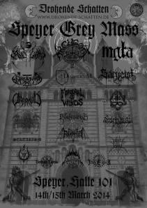 Grey Mass Poster